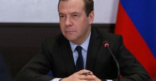 Карикатурист поднял на смех новую должность Медведева