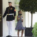 Сама непосредственность: 7-летняя дочь Флойда попросила у Байдена перекус