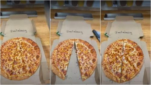 Работник пиццерии поделился с коллегами лайфхаком: как незаметно украсть кусок пиццы