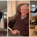 Танцующий дедушка стал новой звездой Сети